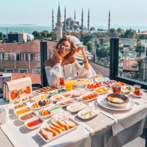 BREAKFAST WITH A VIEW: SURA HOTEL, ISTANBUL